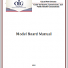 Boards, Commissions, and Public Benefit Corporations: Model Board Manual